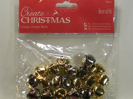 Docrafts - Create Christmas Large Jingle Bells