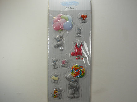 Tatty Ted - Me To you 3D Stickers