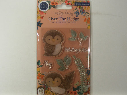 Over the Hedge - Olivia the Owl Stamp Set