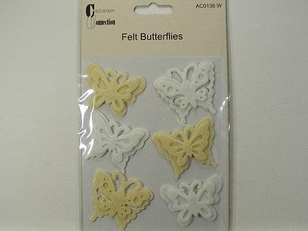 Craftime - Felt Butterflies.