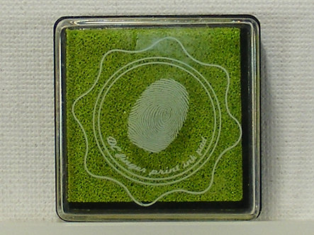DC - Fingerprint Ink Pad - Lime Green