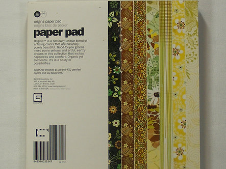 "Basic Grey - Origins 6"" x 6"" Paper Pad"