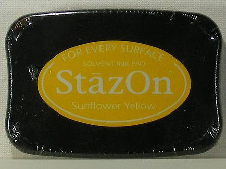 Archival - Stazon - Sunflower Yellow Ink Pad