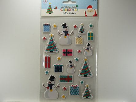 Hobbycraft - Holly Jolly Christmas 3D Puffy Stickers