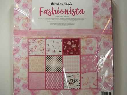 "Kanban - Fashionista 12"" x 12"" Paper Stash"