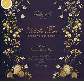 """Craft Consortium - Tell The Bees 12"""" x 12"""" Premium Pad"""