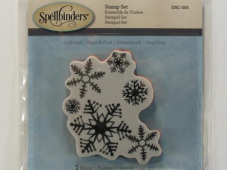 Spellbinders - 3D Stamp - Cold Spell