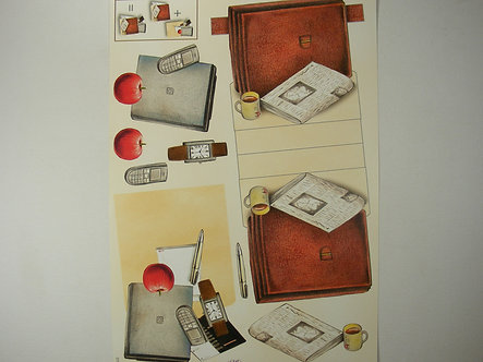 Mireille - Stand Up 3D Decoupage Sheet