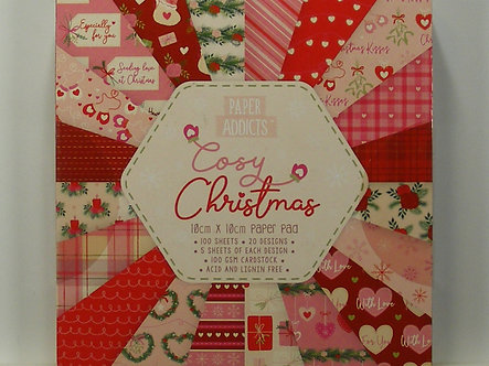 Paper Addicts - Cosy Christmas 10cm x 10cm Paper Pad