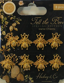 Craft Consortium - Tell The Bees Metal Charms
