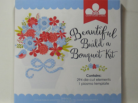 Craftwork Cards - Beautiful Build a Bouquet Kit