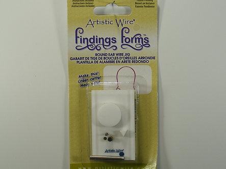 Beadalon - Artistic Wire - Round Ear Wire Jig