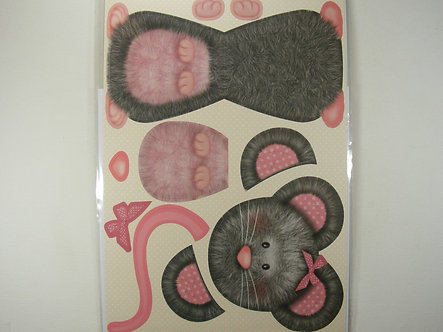 Kanban - Cute Mouse Wobbler Card Kit