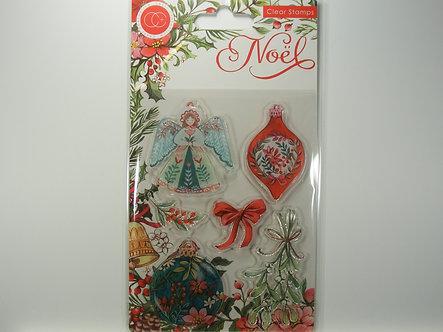 Craft Consortium - Noel - Decorations Clear Stamps