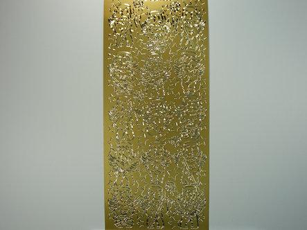 DD - Christmas Peel Offs -  Angels (Gold)