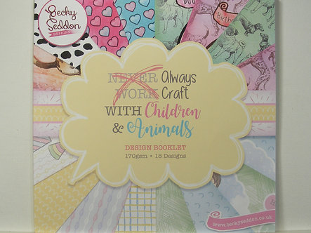 Becky Seddon - Always Craft With Children & Animals Design Booklet