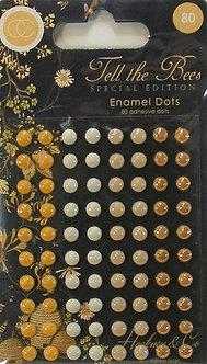 Craft Consortium - Tell The Bees Enamel Dots
