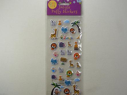 Craft Time - Jungle Puffy Stickers