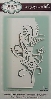Creative Expressions - Paper Cuts Collection - Bluebell Fairy Edge