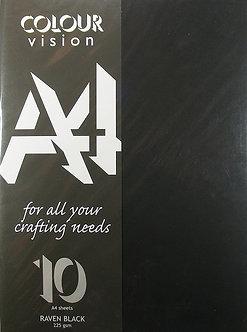 Colour Vision - Raven Black Card.