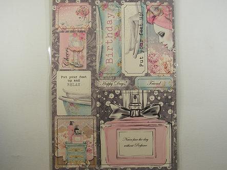 Kanban - Bath Salts & Bouquets Topper Sheet