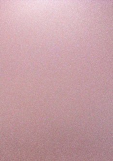 A4 Glitter Card (Non Shed) - Pink Champagne 180gsm.