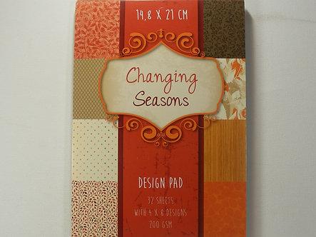 Changing Seasons Paper Pad
