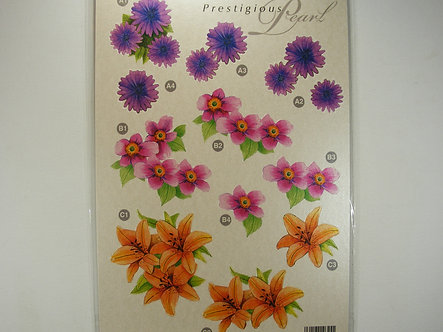 Prestigious Pearl - 3D Floral Decoupage.