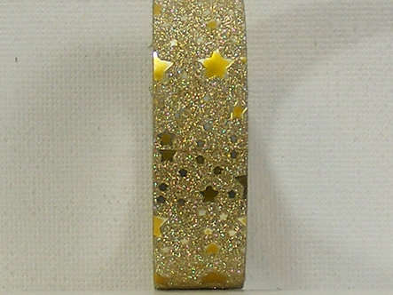 Craft Washi Tape - Gold Star Design.