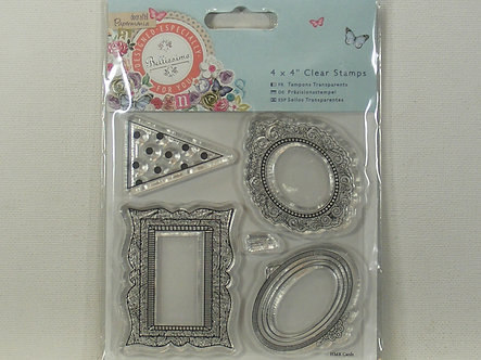 Docrafts - Bellisima - Mini Frames Clear Stamps