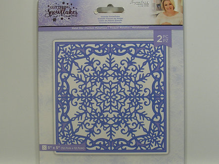 Crafters Companion - Glittering Snowflake Collection - Grande Snowflake Die