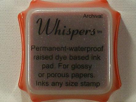Archival - Whispers Orange Dye Based Ink Pad