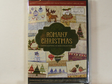 Crafters Companion - Romany Christmas CDrom.