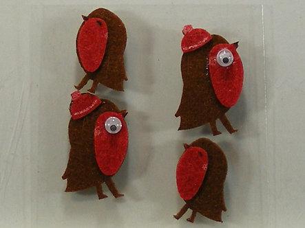 Hobbycraft - Robin Felt Toppers