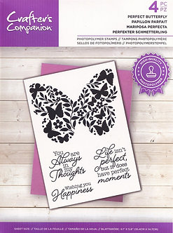 Crafters Companion - Perfect Butterfly Stamp Set