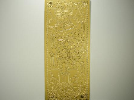 Starform - Christmas Peel Offs - Decorative Stars (Gold