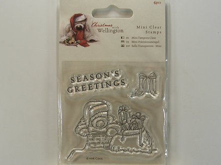 Docrafts - Christmas With Wellington Stamps