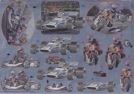 Dufex Decoupage - Motor Sport.