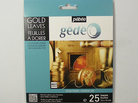 Pebeo - Gold Leaves - Gold Finish