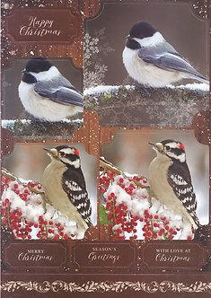 Kanban - Festive Birds Topper Sheet