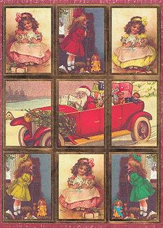 Kanban - Vintage Christmas - Girls & Dollys Toppers