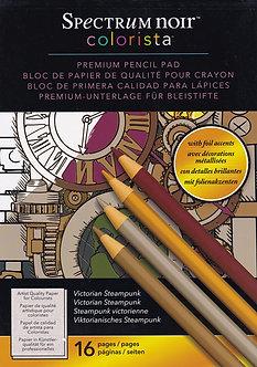Spectrum Noir - Colorista A4 Pencil Pad - Victorian Steampunk