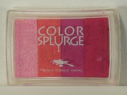 Color Splurge - Pigment Inkpad - Pinks.