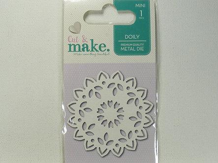 Cut & Make - Mini Doily Die