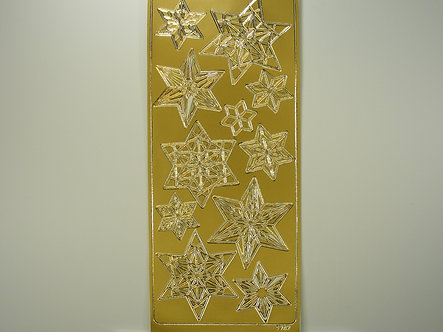 Craftstyle - Christmas Peel Off (Gold)