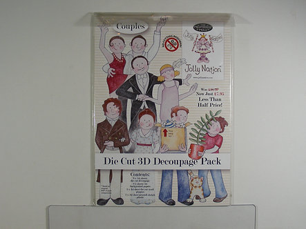 Jolly Nation - Couples 3D Decoupage Pack.