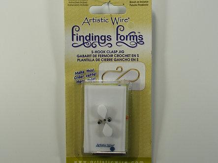 Beadalon - Artistic Wire - S Hook Clasp Jig