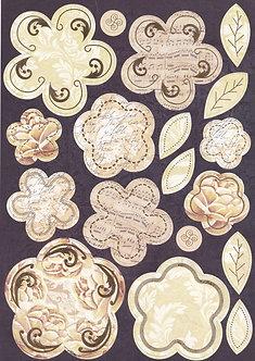 Kanban - Baroque Blooms Topper