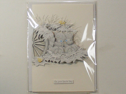 Handmade Greeting Card - On Your Special Day.