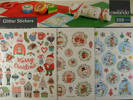 Crelando - Glitter Stickers (208)